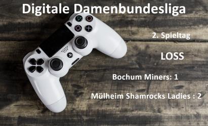 2. Digitaler Spieltag – 1. Digitale Niederlage