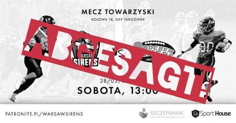 Warschau-Reise abgesagt
