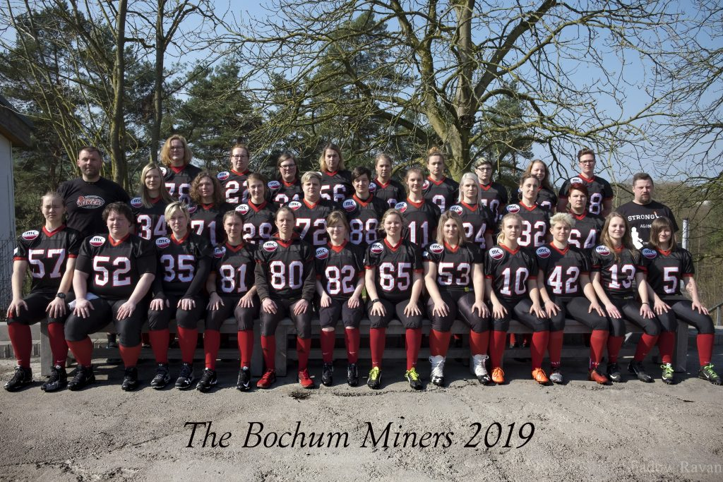 Teamphoto Bochum Miners 2019