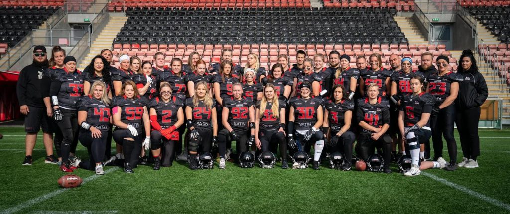 Teamphoto der Örebro Black Knights