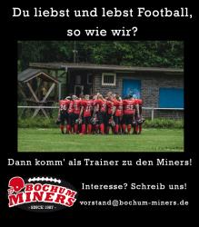 Trainer gesucht! ⛏️🏈
