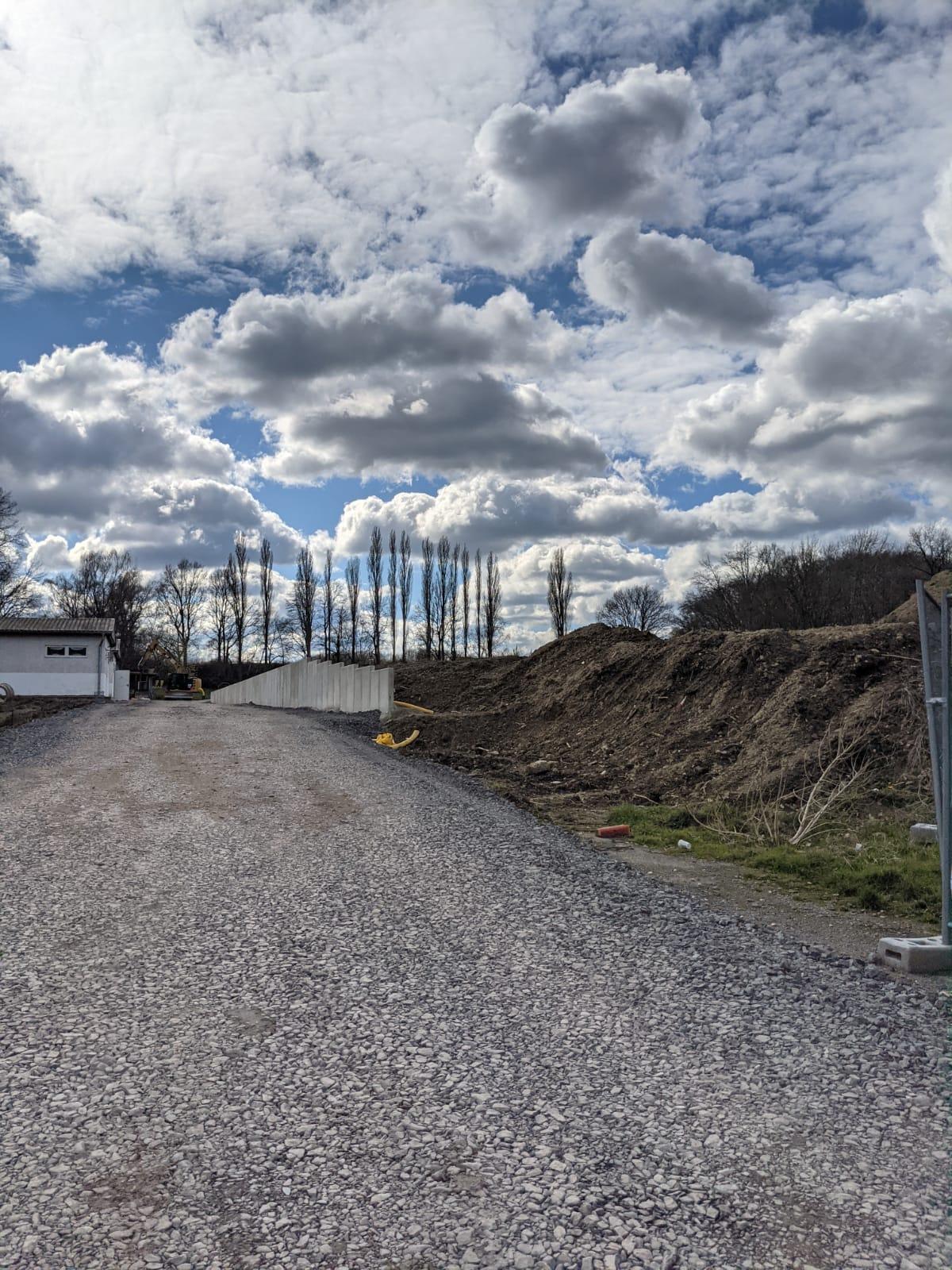 Der Umbau des Schultenhof ist im vollen gange